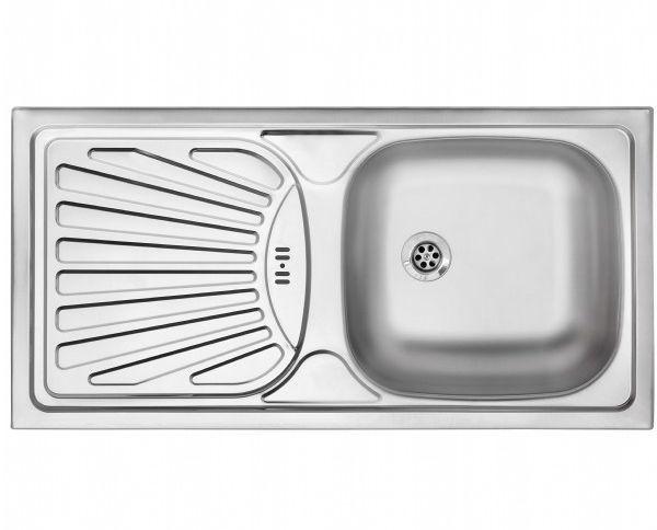 Silverline ES8029X01 Çelik Evye resmi