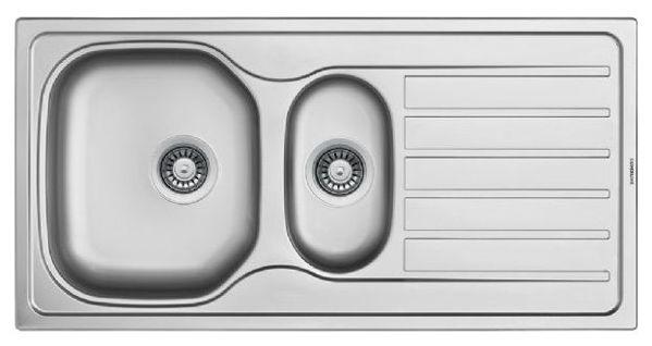 Silverline ES805050X01 Dekorlu Çelik Eviye resmi