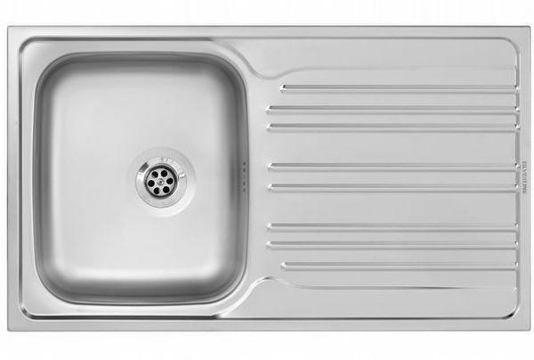Silverline ES8059X01 Çelik Eviye resmi