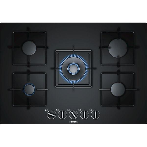 Siemens EP7A6QB10 Siyah Cam Ankastre Ocak resmi