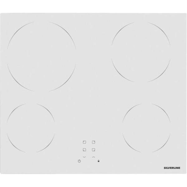 Silverline VC5355W01 Beyaz Elektrikli Ankastre Ocak resmi