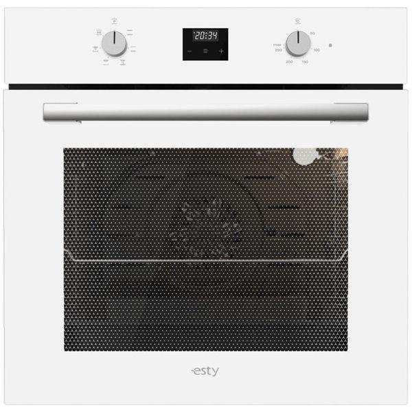 Esty AEF6603W02 Beyaz Cam Ankastre Fırın resmi