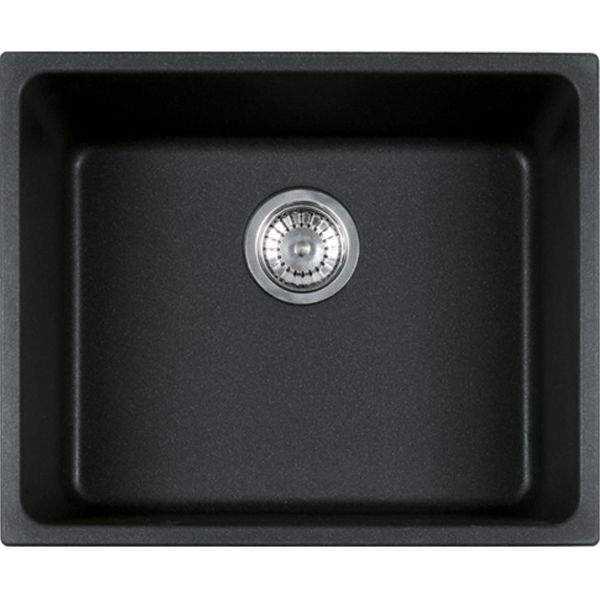 Franke KBG 110-50 Nero Tezgahaltı Granit Evye resmi