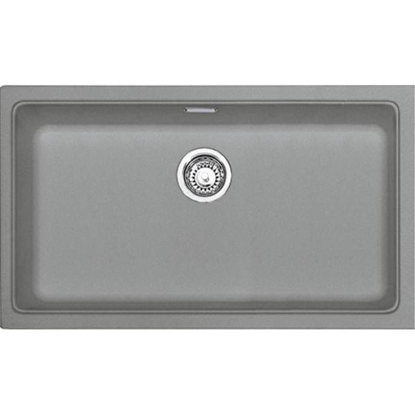 Franke KBG 110-70 Stone Grey Tezgahaltı Granit Evye resmi