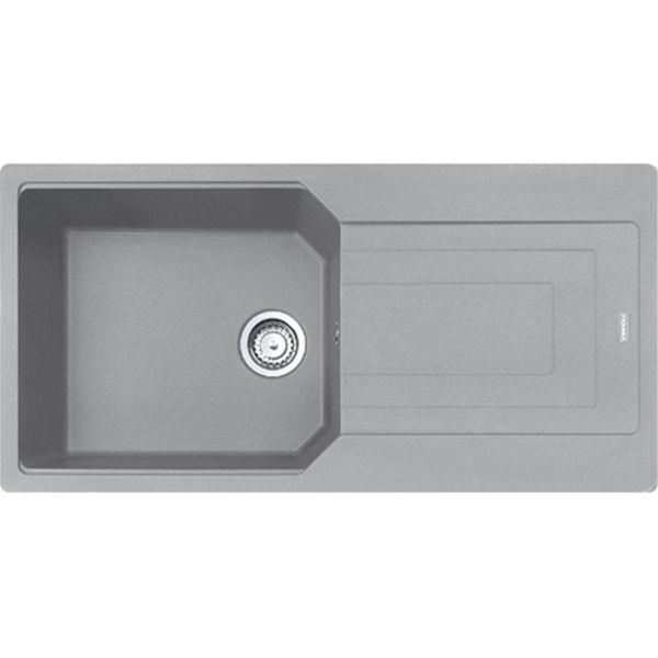 Franke UBG 611-100 Stone Grey Granit Evye resmi