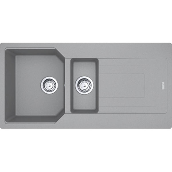 Franke UBG 651-100 Stone Grey Granit Evye resmi