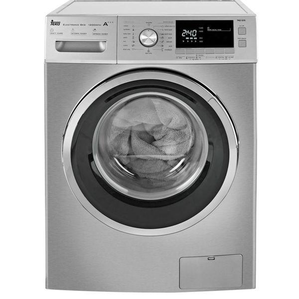 Teka TKD 1270 Inox Çamaşır Makinesi resmi