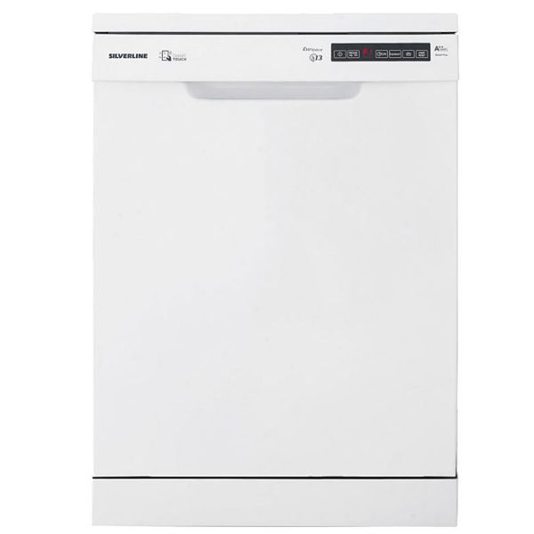 Silverline D11039W01 Beyaz Solo Bulaşık Makinesi resmi