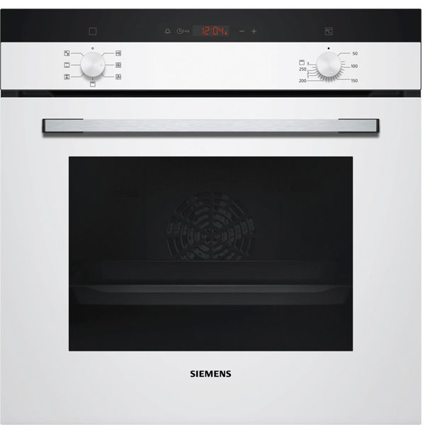Siemens HB013FBW1T Beyaz Ankastre Fırın resmi