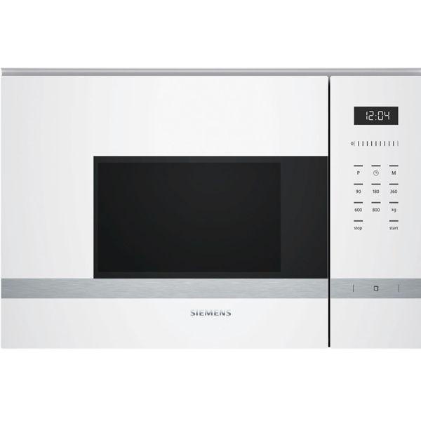 Siemens BF525LMW0 Beyaz Ankastre Mikrodalga resmi