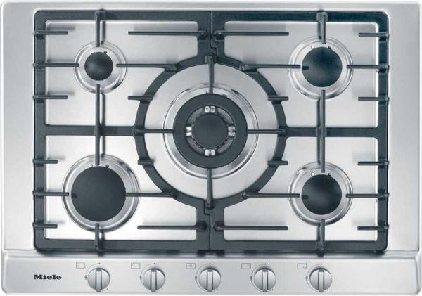 Miele KM 2032 G EDST Gazlı Çelik Ocak resmi