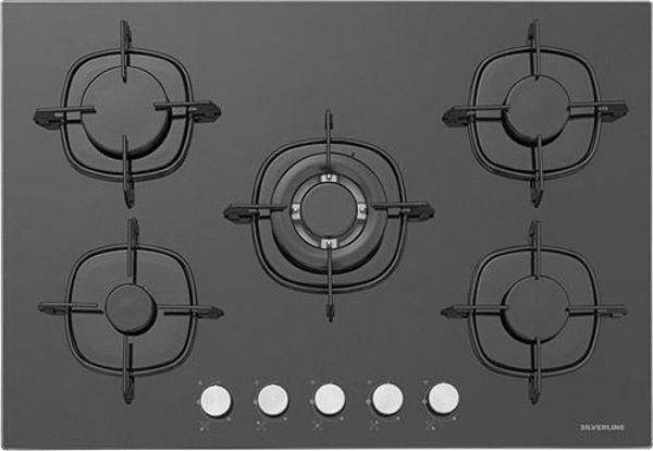 Silverline CS5365B01 Siyah Ankastre Ocak resmi