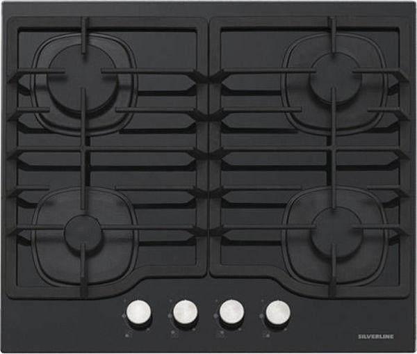 Silverline CS5404B01 Siyah Ankastre Ocak resmi