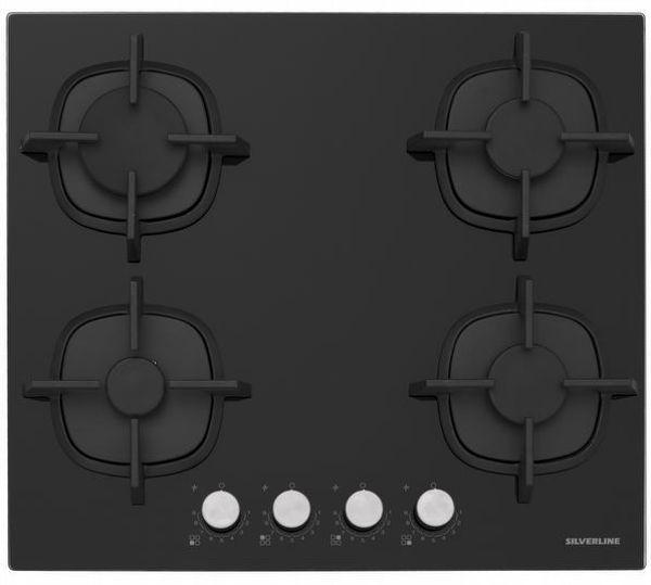 Silverline CS5427B01 Siyah Ankastre Ocak resmi