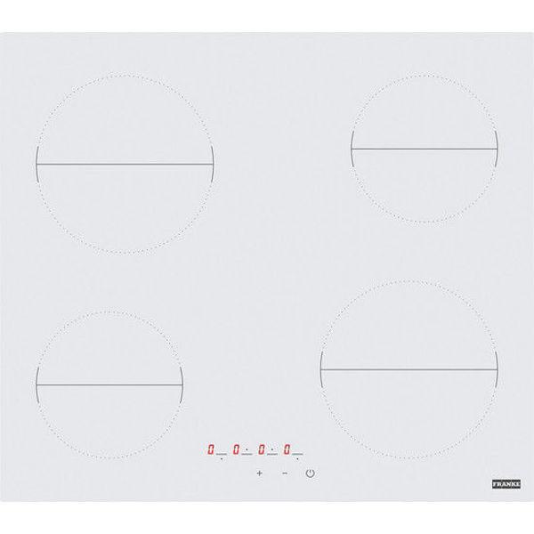 Franke FHR 604 C T WH Beyaz Cam Seramik Elektrikli Ankastre Ocak resmi