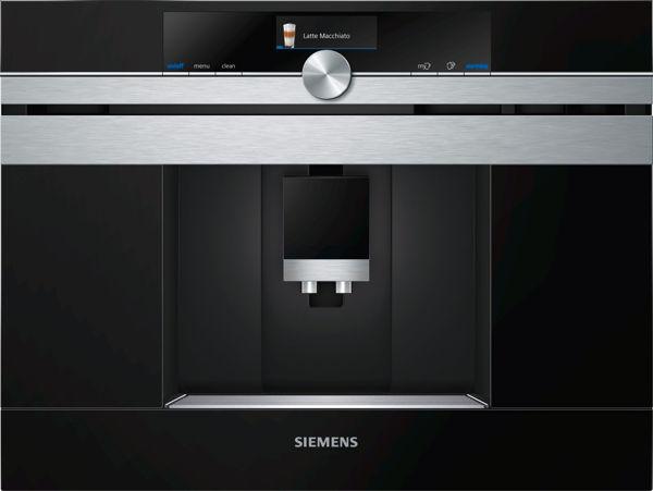 Siemens CT636LES6 Ankastre Home Connect Tam otomatik Espresso ve Kahve Makinesi , 1600 W resmi
