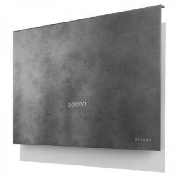 Faber Talika DGC A80 Koyu Concrete Gri Davlumbaz resmi