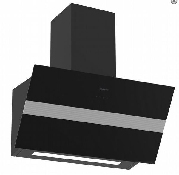 Silverline 3472.8 BOLD Siyah Davlumbaz resmi