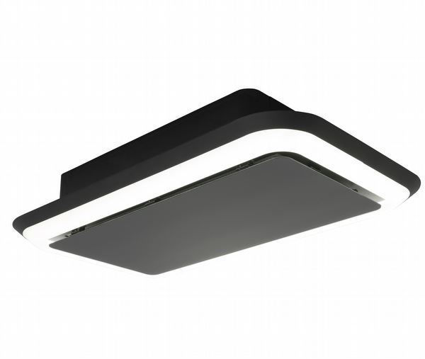 Silverline 4265.2 SIDELIGHTED Siyah Tavan Tipi Davlumbaz resmi