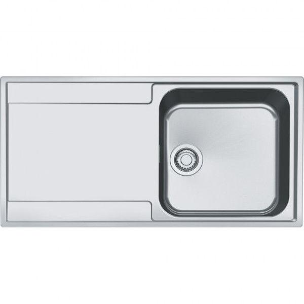Franke MRX 211 Tezgah Üstü & TezgahaSıfır Çelik Evye resmi