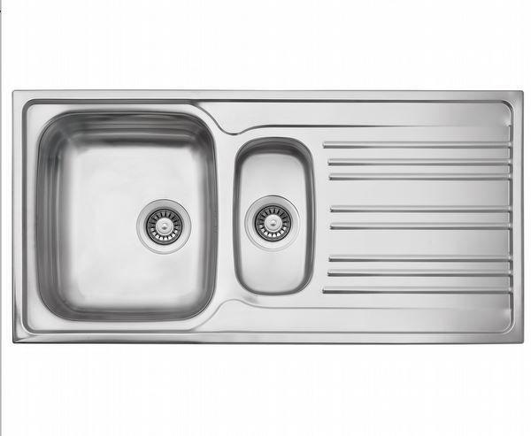 Silverline ES8045X01 SAĞ Dekorlu Çelik Eviye resmi