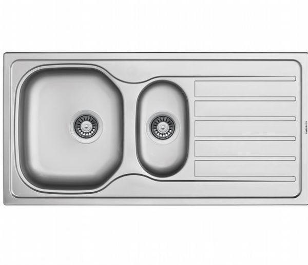 Silverline ES8050X01 SAĞ Dekorlu Çelik Eviye resmi