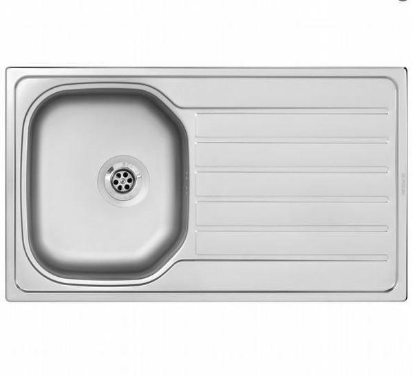 Silverline ES8060X01 SAĞ Dekorlu Çelik Eviye resmi