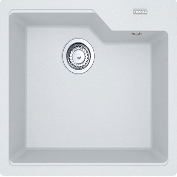 Franke UBG 610-56 Bianco Granit Evye resmi