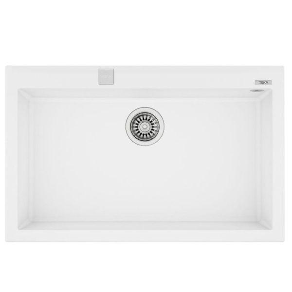 Teka FORSQUARE 72.40 TG (Artic White) Beyaz Granit Evye resmi