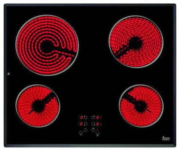 Teka TB 600 Cam Seramik Elektrikli Ankastre Ocak resmi