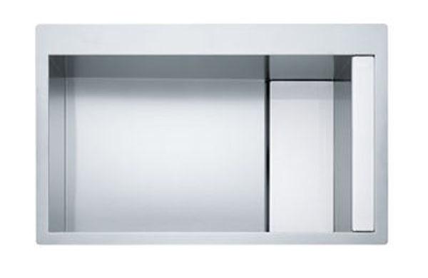 Franke Crystal Lıne Slimtop CLV 210 Beyaz/Paslanmaz Çelik Evye resmi