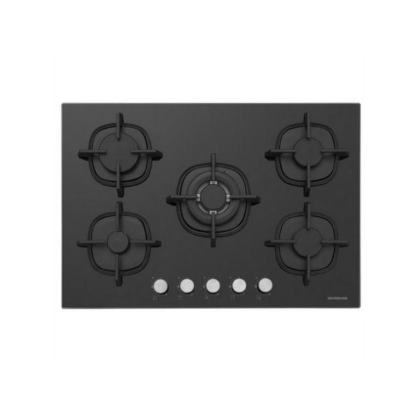 Silverline CS5364B01 Siyah Cam Ankastre Ocak resmi