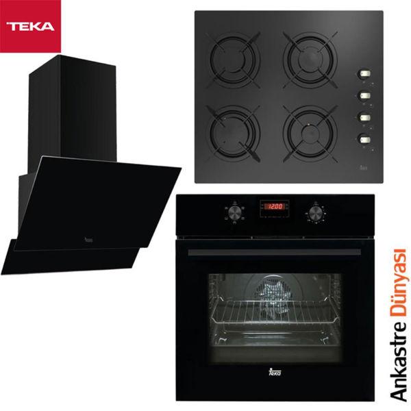 Teka Ankastre Set [ATV60+HELLUX604GAIALL+HAK625N](TK25) resmi
