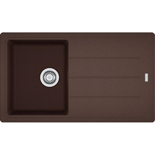 Franke BFG 611 Dark Brown (Kahve) Granit Eviye resmi