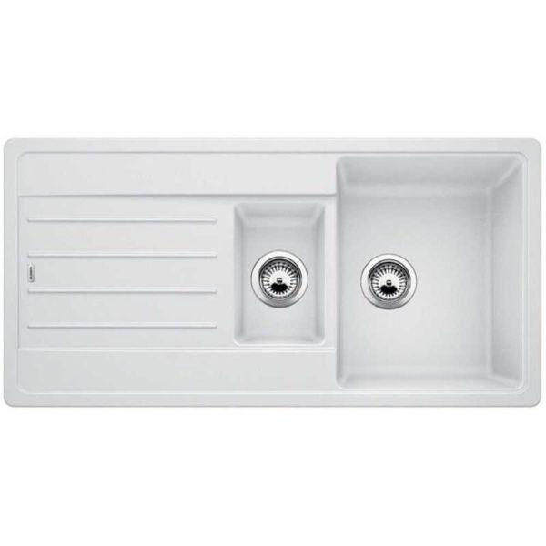Blanco LEGRA 6S Beyaz Granit Eviye resmi