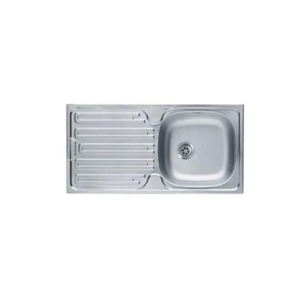 Franke Colibri CIN 611 Sol Damlalık Çelik Evye resmi