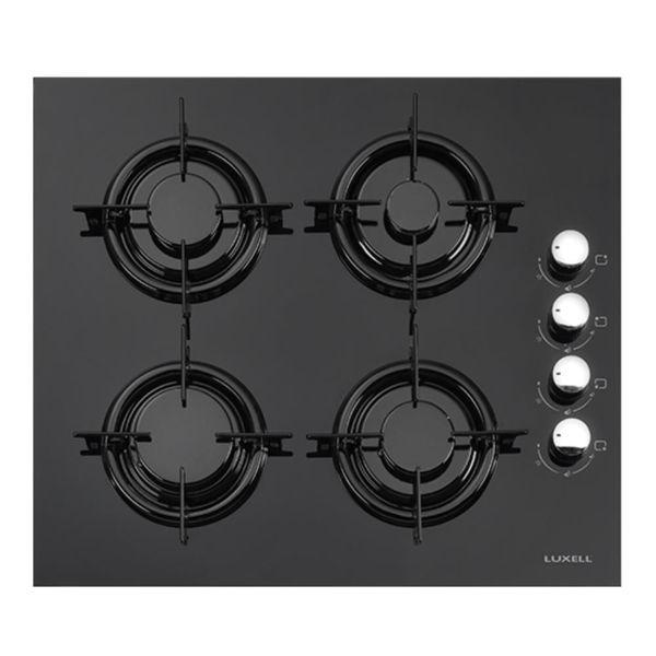 Luxell LX40TAHDF Siyah Cam Ankastre Ocak resmi