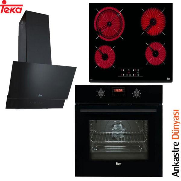 Teka Ankastre Set  [ATV60+TZ6415+HAK625N]  (TK08) resmi