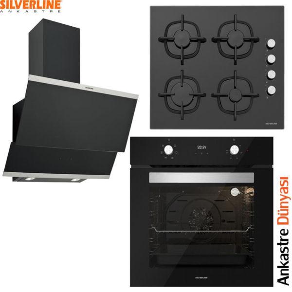Silverline Ankastre Set [CLASSY60+CS5343B01+BO6502B01] (SLV94) resmi