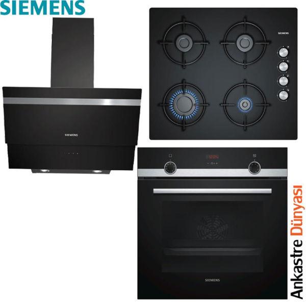 Siemens Ankastre Set [LC65KA670+EO6C6PB11O+HB514FBR0T] (SMN08) resmi