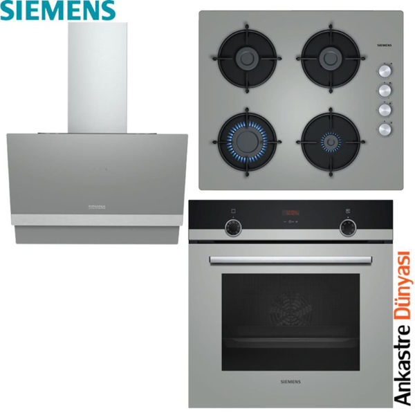 Siemens Ankastre Set [LC65KAJ70T+EO6C8PO00O+HB514FBH0T] (SMN10) resmi