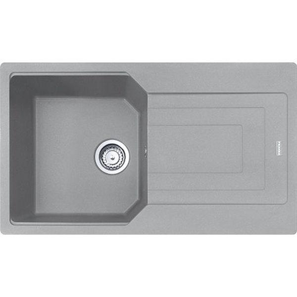 Franke UBG 611-86 Stone Grey Granit Evye resmi