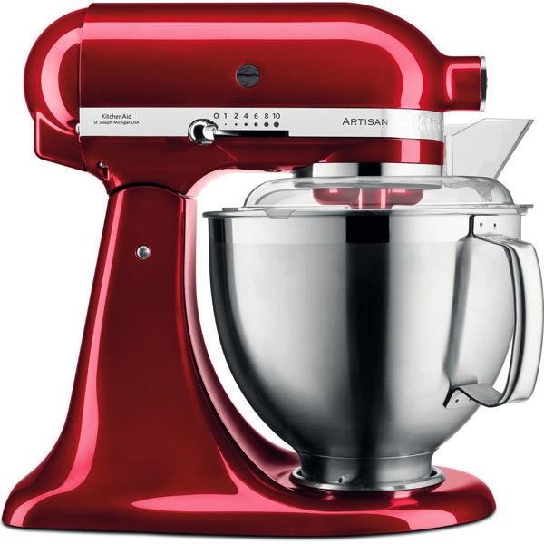 Kitchenaid Artisan 4,8 L Stand Mikser 5KSM185PS Candy Apple-ECA resmi