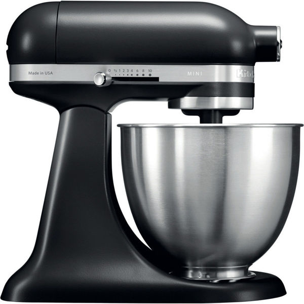 Kitchenaid 3,3 L Mini Stand Mikser 5KSM3311X Black Matte-EBM resmi