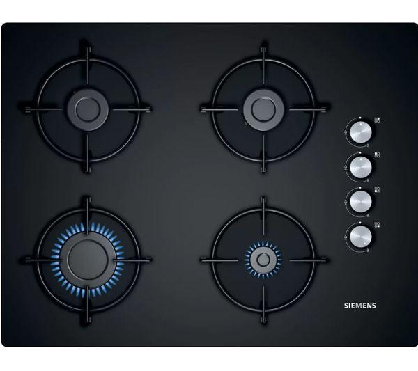 Siemens EO7C6PO10O Siyah Cam 67cm Ankastre Ocak resmi