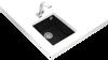 Teka SQUARE 34.40 TG (Black) Siyah Granit Evye resmi