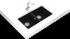 Teka Square 760 TG Black Tezgahaltı Granit Evye resmi