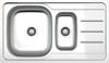 Vera V-192 Tezgaha Sıfır 1,5Göz SAĞ Dekorlu Eviye (50-86) resmi