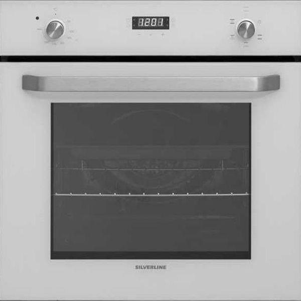 Silverline BO6191W01 Beyaz Ankastre Fırın resmi