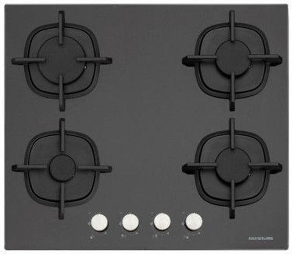 Silverline CS5437B01 Siyah Cam Ankastre Ocak resmi